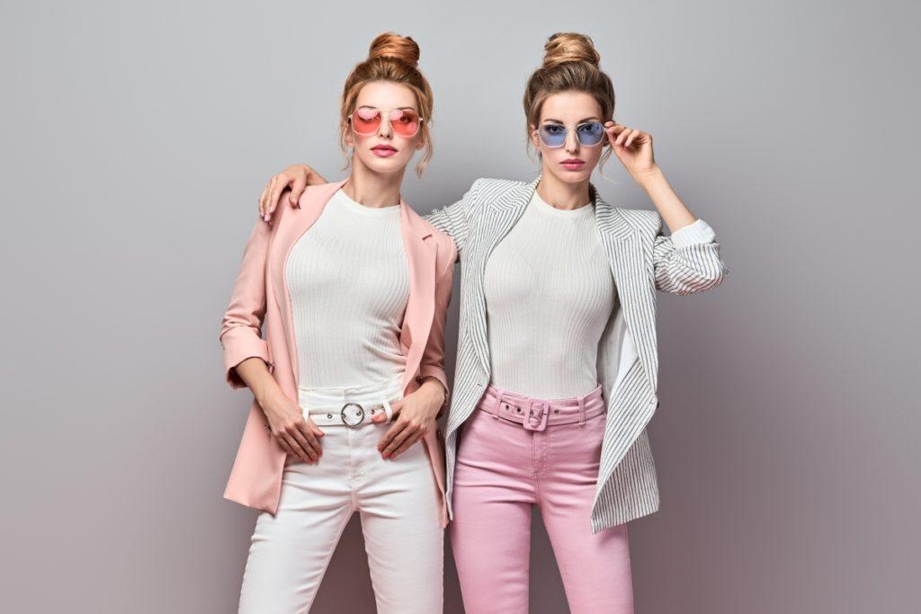 Łączenie różowego z innymi kolorami